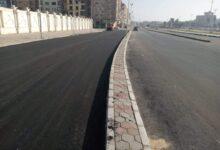 صورة رفع كفاءة محاور مرورية جديدة بالأحياء الثلاثة و المراكز في الإسماعيلية