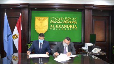 صورة جامعة الإسكندرية توقع بروتوكول تعاون مع الهيئة العامة لتعليم الكبار للقضاء علي الأمية بالإسكندرية