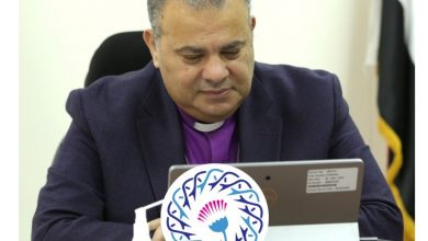 صورة رئيس الإنجيلية يهنئ المستشار حنفي جبالي ووكيلي المجلس والأعضاء الجدد