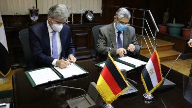 صورة توقيع خطاب نوايا بين وزارة الكهرباء وشركة سيمنس لاستخدام الهيدروجين