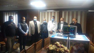 صورة الوفد: أجهزة عناية مركزة ومستلزمات طبية لمستشفى العامرية العام في الإسكندرية