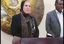 صورة نيفين جامع : مصر دائما لا تتأخر عن دعم اشقائها فى السودان