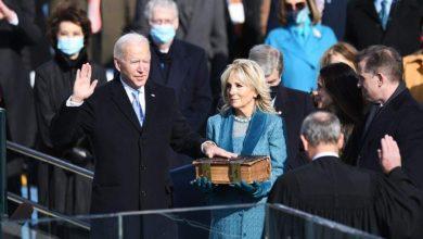 صورة بايدن أدي اليمين الدستورية ليصبح الرئيس الـ46 للولايات المتحدة الأمريكية