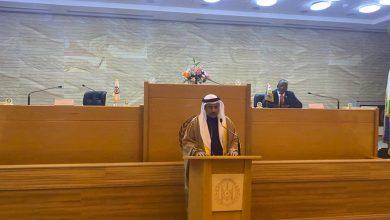 صورة في كلمته أمام مجلس النواب بجمهورية جيبوتي .. رئيس البرلمان العربي : حشد الدعم العربي لجمهورية جيبوتي هو إستثمار مباشر في تعزيز منظومة الأمن القومي العربي