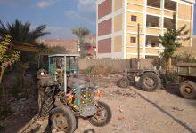 صورة إحلال وتجديد المباني القديمة بالوحدة المحلية بشبراقاص