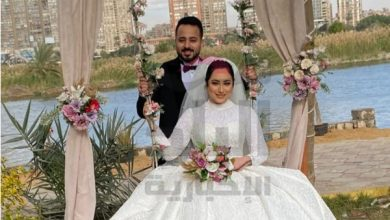 صورة صور ..أمين عام اللجنة النقابية بوزارة الخارجية يحتفل بزفاف نجلته