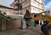 صورة حملة لرفع الإشغالات وإزالة المخالفات بالمنطقة الصناعية بمدينة دمياط الجديدة