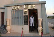 صورة محافظ جنوب سيناء يتفقد عيادة السفاري و الهجن ضمن فعاليات الإحتفال بذكرى افتتاح مضمار الهجن بشرم الشيخ