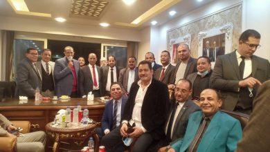 صورة تهنئة للأستاذ محمد دسوقي المحامي بمناسبة افتتاح مكتبه الجديد