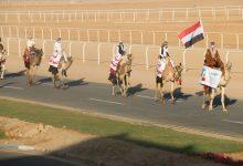 صورة فودة يشهد ختام مهرجان الهجن المقام احتفالاً بالذكرى الأولى لافتتاح المضمار