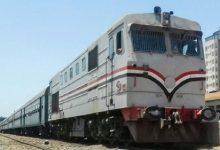 صورة مصرع فتاه وإصابة أخرى فى حادث قطار بالسنطة
