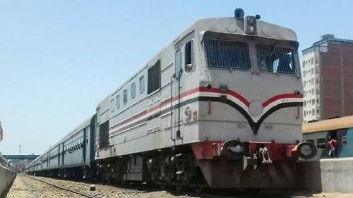 حادث قطار بالسنطة