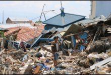 """صورة مفتي الجمهورية ينعى ضحايا زلزال جزيرة """"سولاويسي"""" الإندونيسية"""