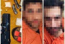 صورة العراق: شرطة النجدة تلقي القبض على متهمين اثنين بحوزتهما مواد مخدرة وسلاح غير مرخص