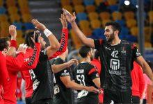 صورة مونديال اليد 2021 :وليد قداح رجل مباراة مصر ومقدونيا في كأس العالم لليد