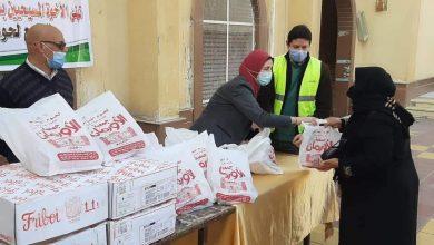 صورة تضامن الإسماعيلية توزع 10 ألاف طن لحوم بالكنائس و الأسر الأولي بالرعاية
