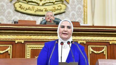 صورة وزيرة التضامن الاجتماعي :إعفاء 5,5 مليون طالب في مختلف المراحل التعليمية من دفع مصروفات الدراسة