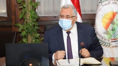 صورة اجتماع اللجنة التنسيقية العليا المشتركة بين وزارتي الري والزراعة