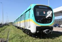 صورة وزير النقل: وصول سادس قطار مترو أنفاق مكيف جديد إلى ميناء الإسكندرية