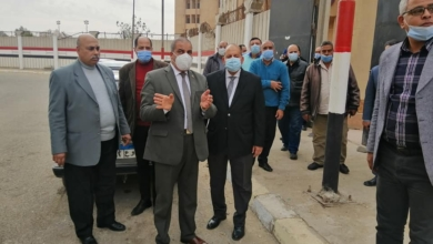 صورة رئيس جامعة الأزهر يتفقد المدن الجامعية بمدينة نصر