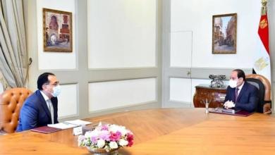 صورة الرئيس السيسي يتابع مع رئيس الوزراء مستجدات الموقف التنفيذي للمشروع القومي لتطوير قري الريف