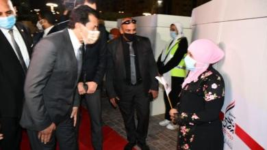 صورة وزير الشباب يشارك في احتفالية صندوق تحيا مصر لتجهيز 158 عروسة