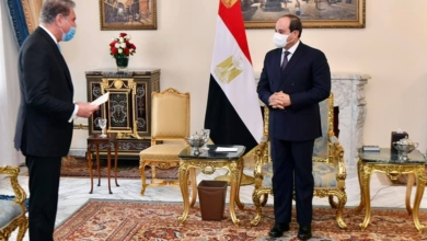 صورة السيسي : مصر ترحب بتطوير التعاون الثنائي وتبادل الخبرات في مختلف المجالات مع باكستان