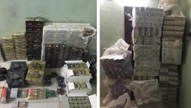 صورة ضبط عبوات أدوية تخسيس مجهولة المصدر بحوزة مسئول مخزن أدوية بالقاهرة