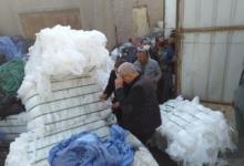 صورة ضبط مصنع لإعادة تدوير المخلفات الطبية الخطرة بأبو النمرس