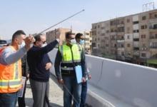 صورة الرئيس السيسي يقوم بجولة تفقدية لأعمال تطوير الطرق والمحاور بشرق القاهرة