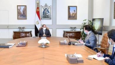 صورة الرئيس السيسي يطمئن على اجراءات استئناف الفصل الدراسي الجامعي الثاني
