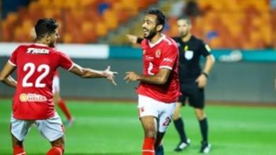 صورة كهربا يضيف الهدف الثاني  للأهلي فى مرمي المريخ السوداني فى دوري أبطال أفريقيا