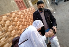 صورة صحة كفر الشيخ : تطعيم 543782 طفل خلال اليوم الأول للحملة القومية لشلل الأطفال