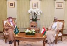 صورة مشاورات عُمانية سعودية في مسقط لتعزيز العلاقات وبحث قضايا إقليمية ودولية