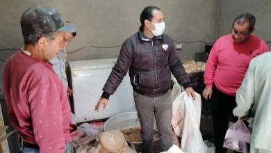 صورة بالصور .. ضبط 153 كيلو لحوم مفرومة ودواجن غير صالحة بحملة تموينية بالدقهلية
