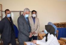 صورة مبارك يتابع بدء امتحانات الفصل الدراسي الأول بجامعة المنوفية