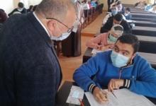 """صورة """"شريف علي"""" يتابع خط سير أعمال الأمتحانات بكليه الصيدله و التجارة والحقوق جامعه مدينه السادات"""