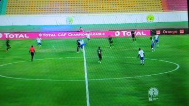 صورة تعادل الزمالك وتونجيث السنغالي بدون أهداف في أبطال الدوري الإفريقي