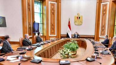 صورة الرئيس السيسي يتابع الموقف التنفيذي للمشروع القومي لتنمية وسط وشمال سيناء
