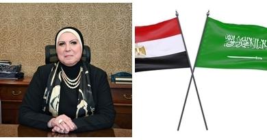صورة إجتماع مصرى سعودى لتعزيز التعاون المشترك فى كافة المجالات الاقتصادية والإجتماعية والثقافية والإعلامية